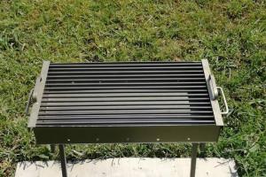 Снимка номер 5 за Ръчно изработено барбекю за дървени въглища