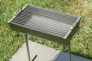 Снимка номер 1 за Ръчно изработено барбекю за дървени въглища
