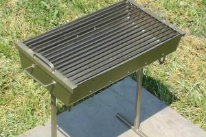 Снимка номер 3 за Ръчно изработено барбекю за дървени въглища