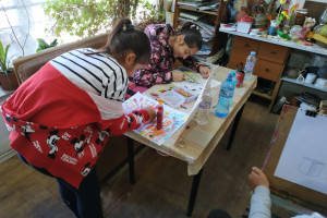 Снимка номер 2 за Детска школа по рисуване уикенд занимания