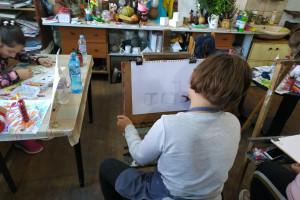 Снимка номер 3 за Детска школа по рисуване уикенд занимания